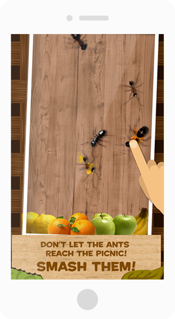ant smasher screen